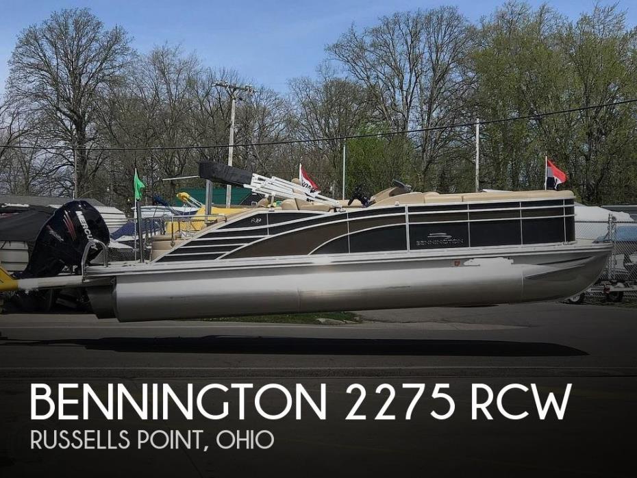 2016 Bennington 2275 RCW