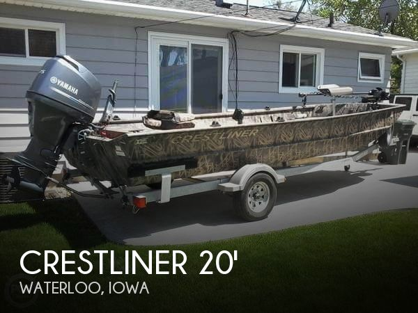 2015 Crestliner 2070 Retriever Jon