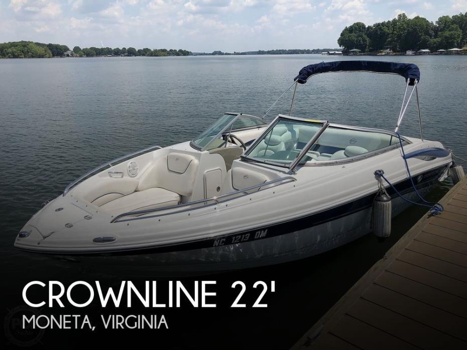 2007 Crownline 220LS 22 1/2'