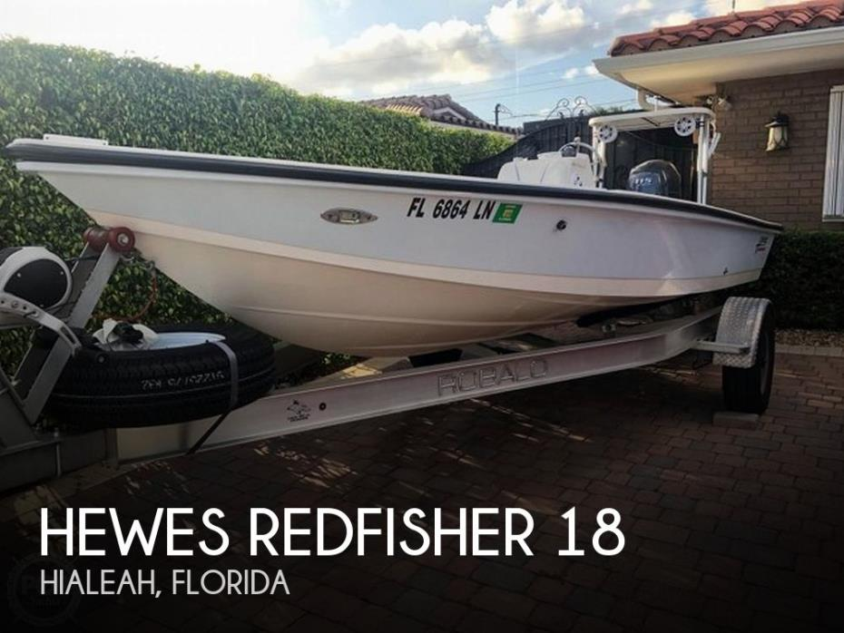 2001 Hewes Redfisher 18