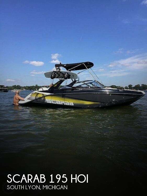 2017 Scarab 195 HO Impulse