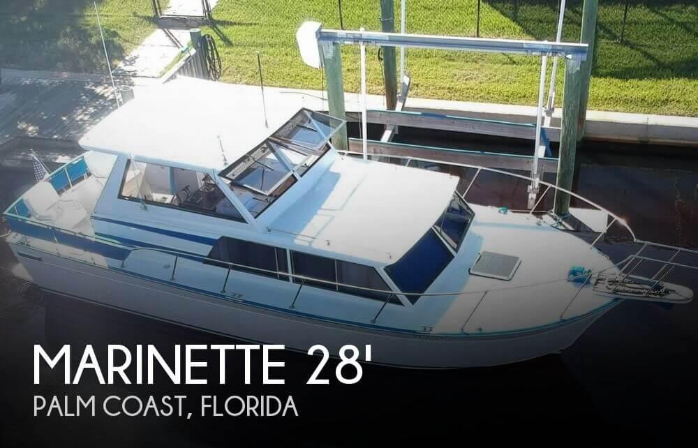 1988 Marinette 28 Express