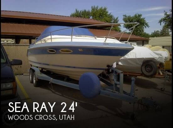 1987 Sea Ray 230 Cuddy Cabin