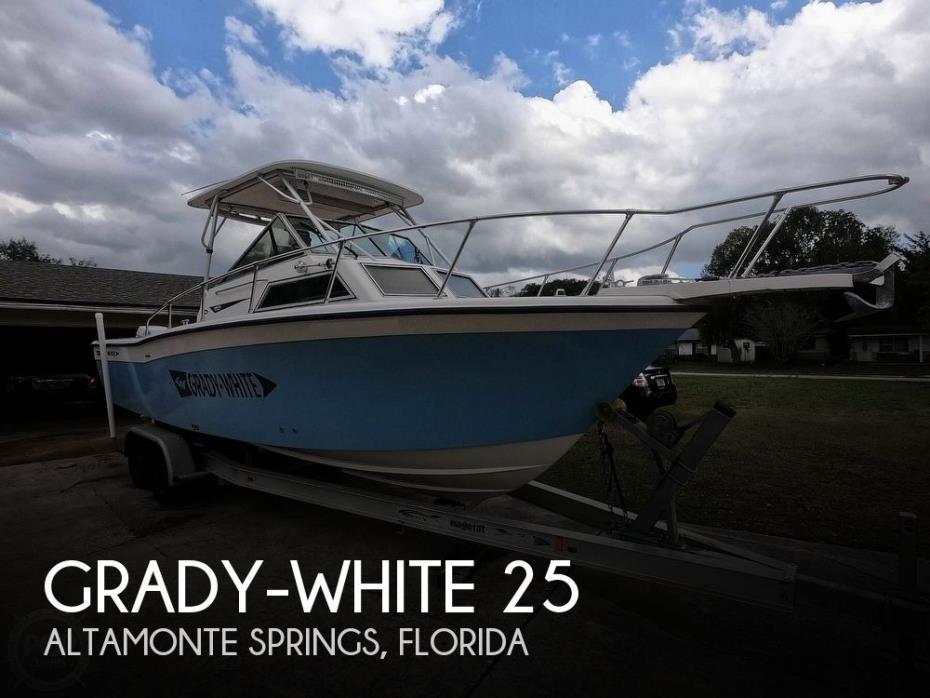 1989 Grady-White Sailfish 25