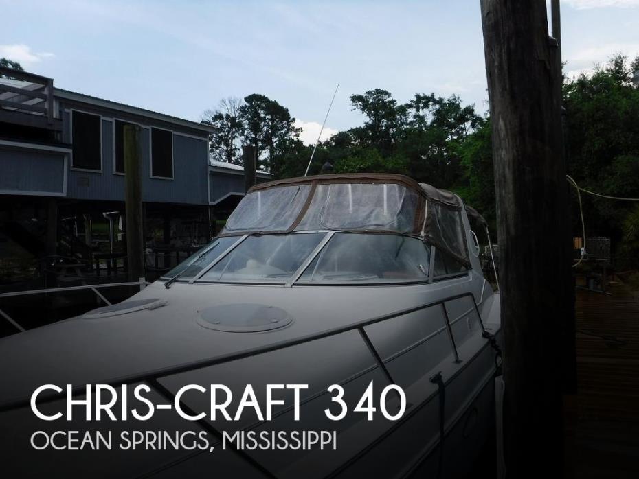 1995 Chris-Craft 34 Crowne