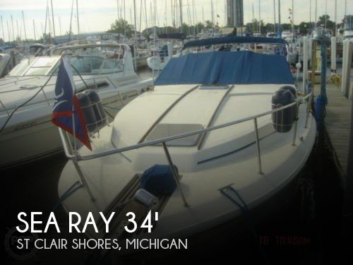 1984 Sea Ray 340 Sundancer