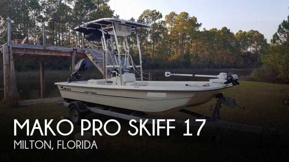 2014 Mako Pro Skiff 17