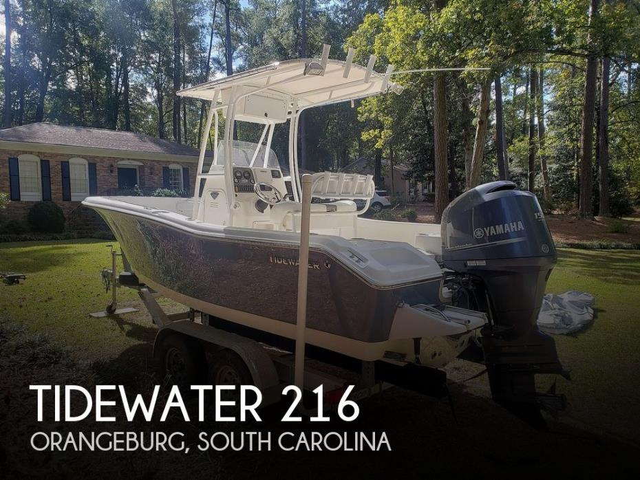 2014 Tidewater 216 Adventure