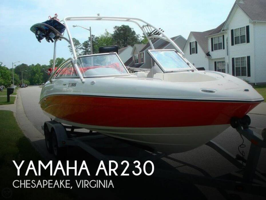 Yamaha jet boats for sale for Yamaha ar230 boat cover