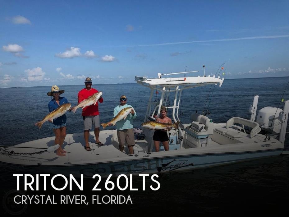 2019 Triton 260LTS