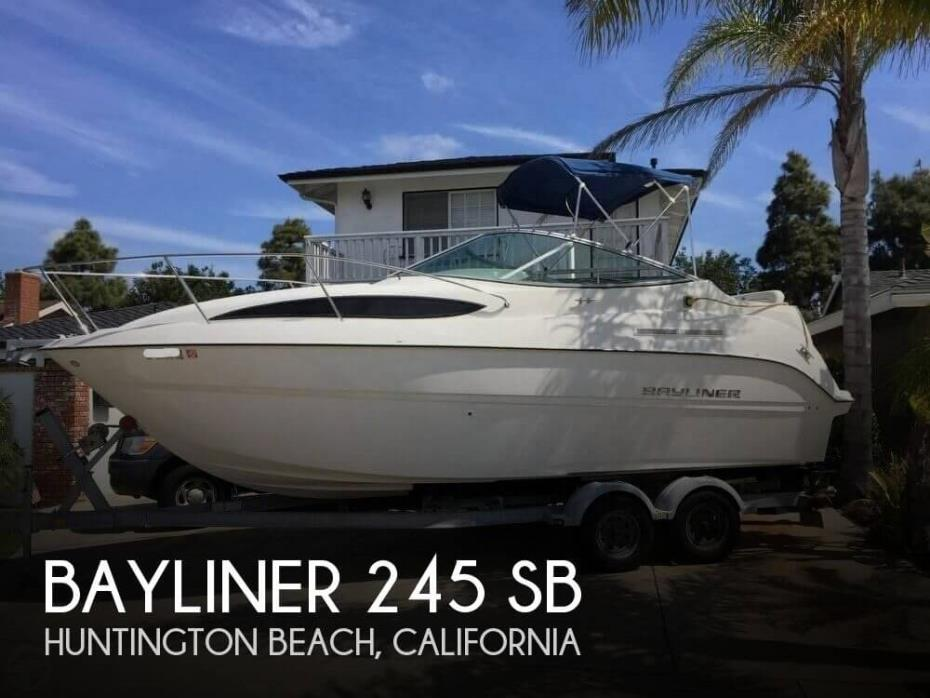 2010 Bayliner 245 SB