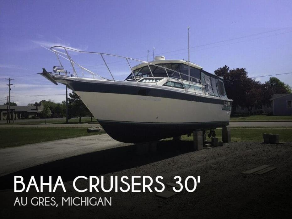 1988 Baha Cruisers 310 Sportfisherman
