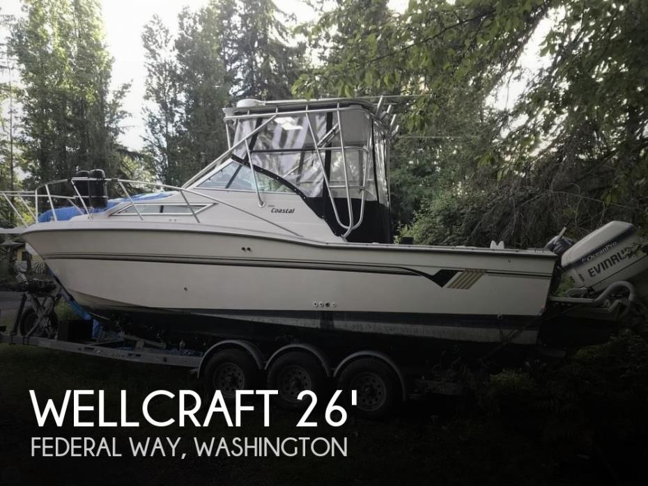 1992 Wellcraft Coastal 2600