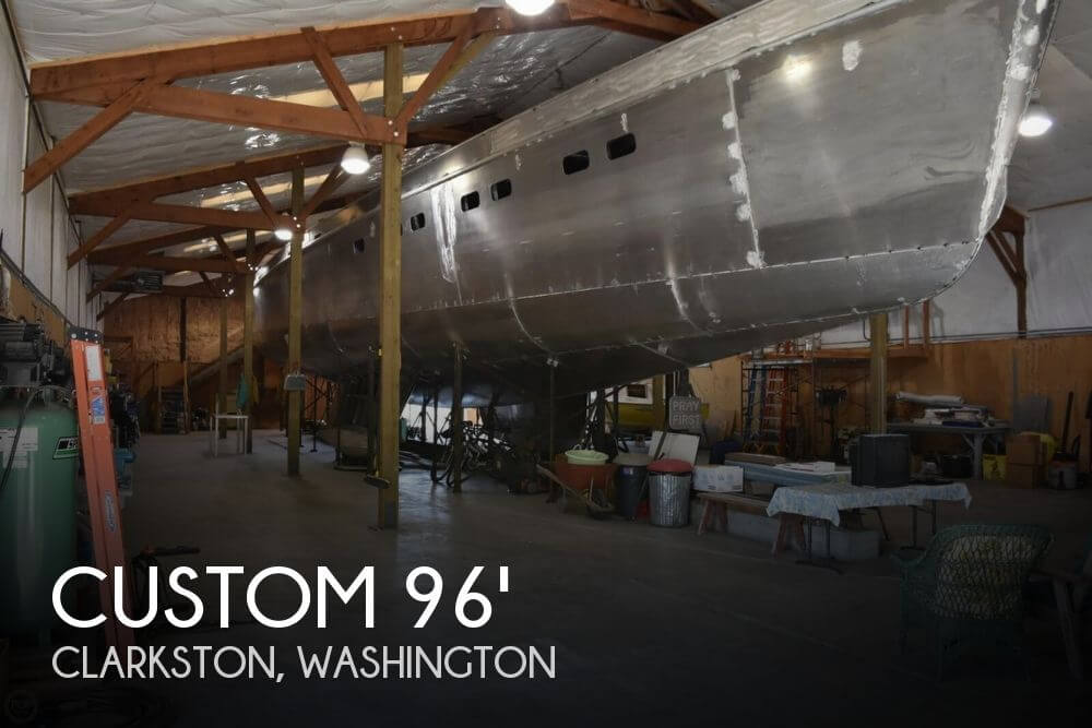 2018 Custom 96' 3 Masted Schooner Project