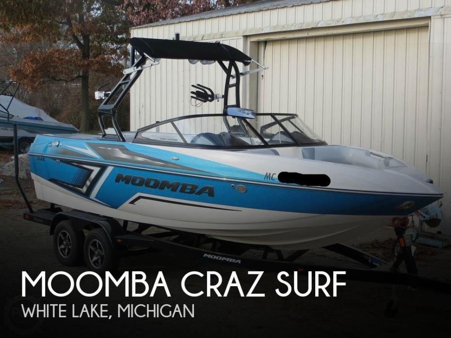 2017 Moomba Craz Surf