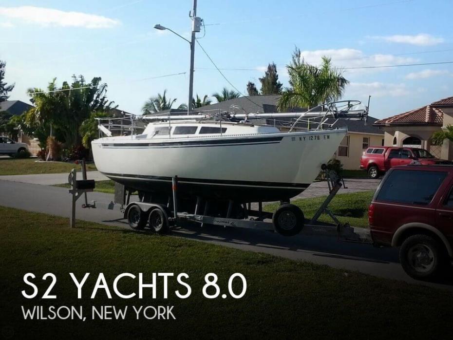 1977 S2 Yachts 8.0