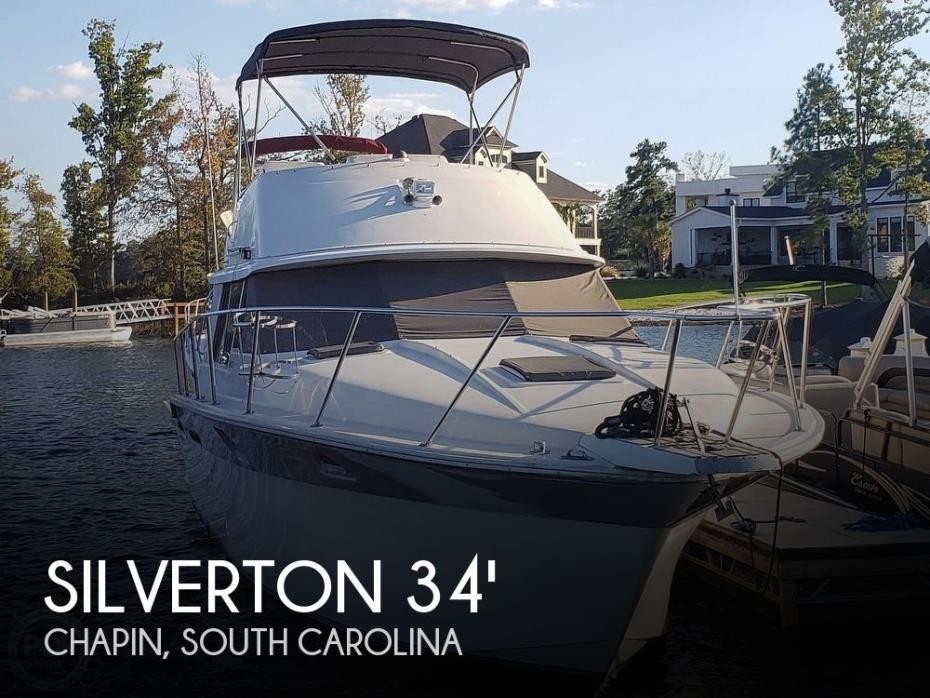 1985 Silverton 34 Convertible