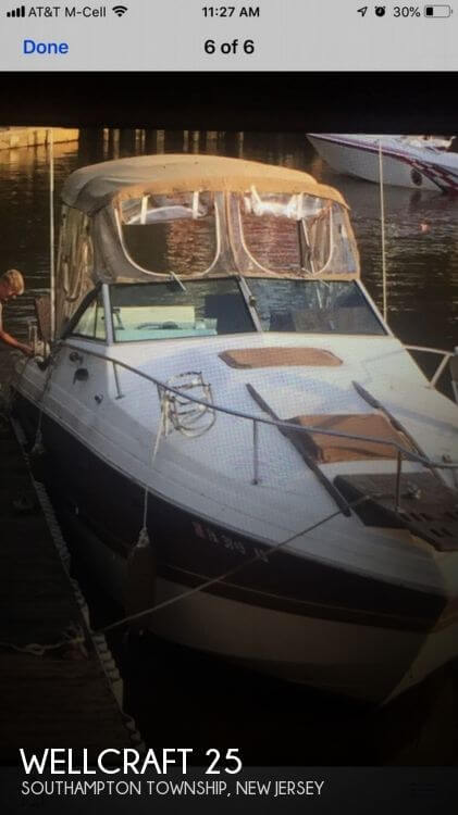1982 Wellcraft 255 Suncruiser