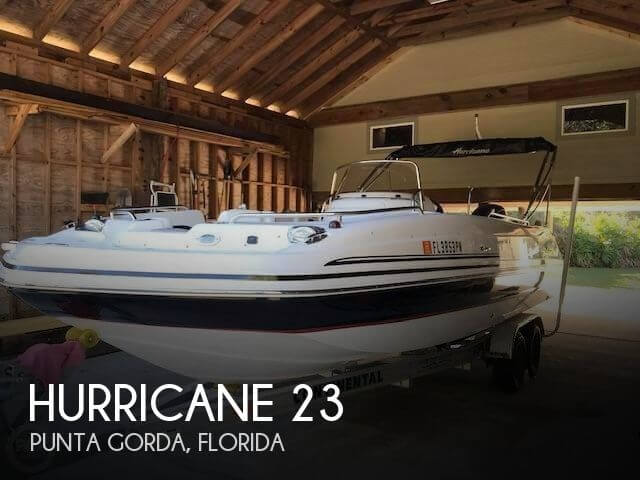 2013 Hurricane 231 Sun Deck Sport