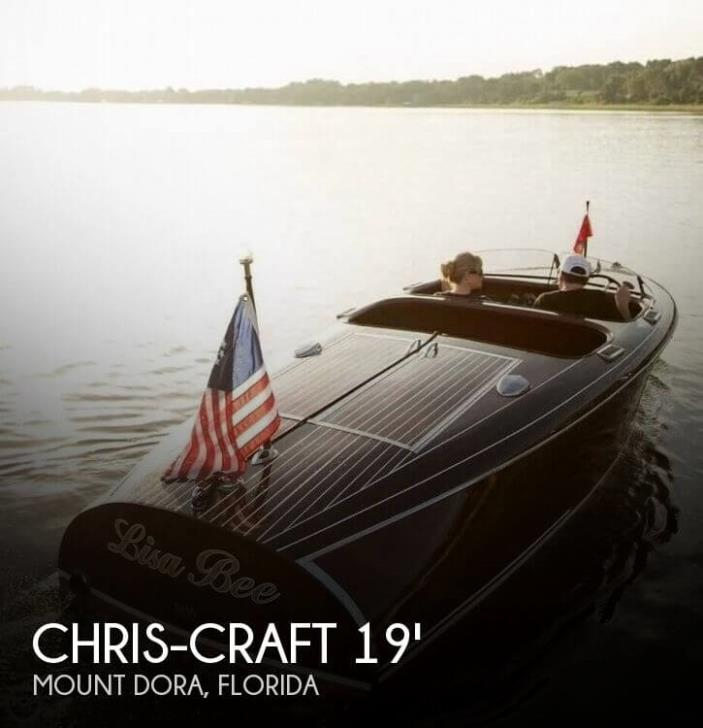 1939 Chris-Craft 19 Barrelback