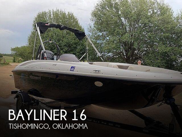 2019 Bayliner Element E16