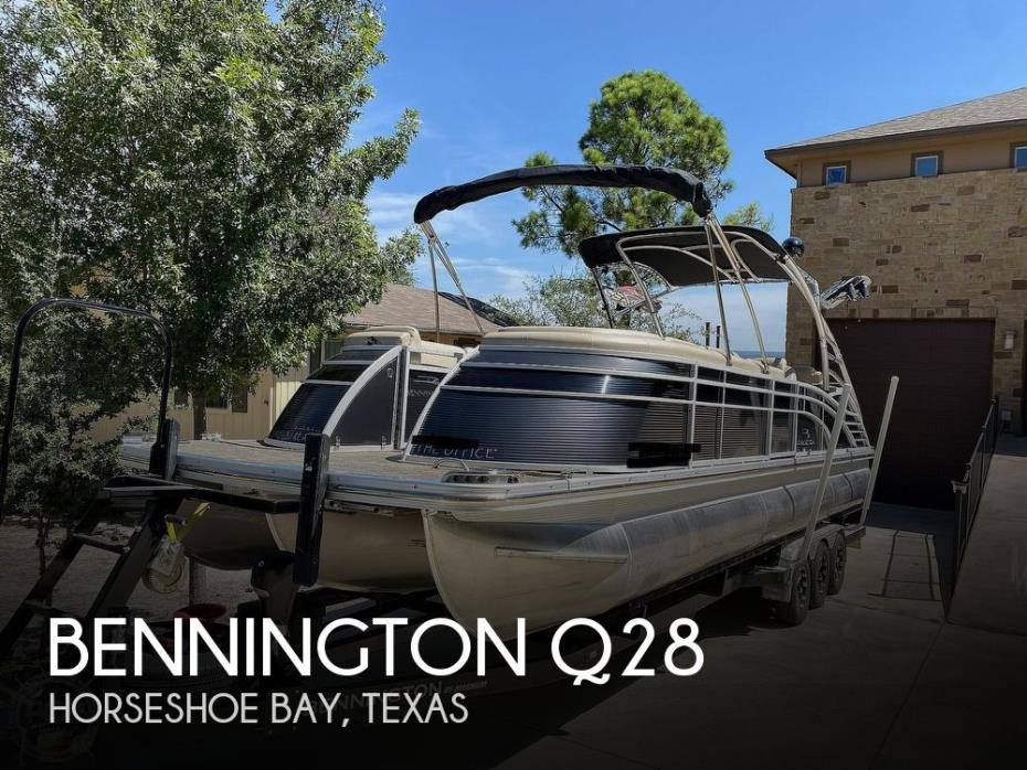 2016 Bennington 2875 QCW