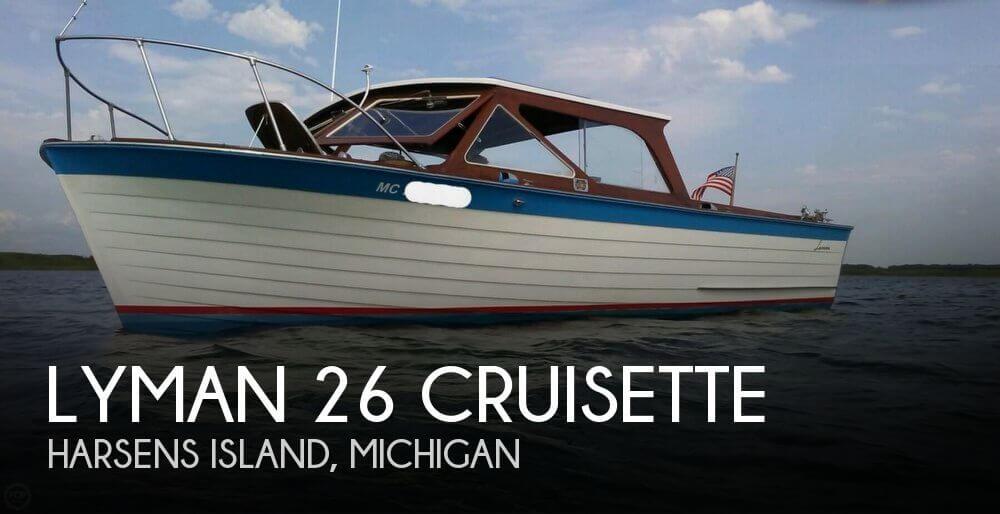1968 Lyman 26 Cruisette