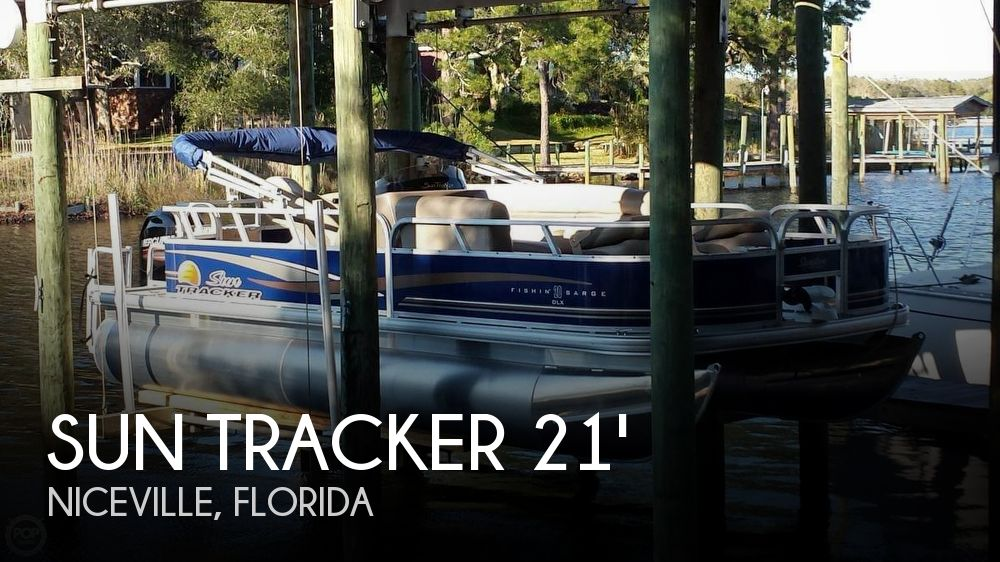 2014 Sun Tracker Fishin' Barge 20 DLX