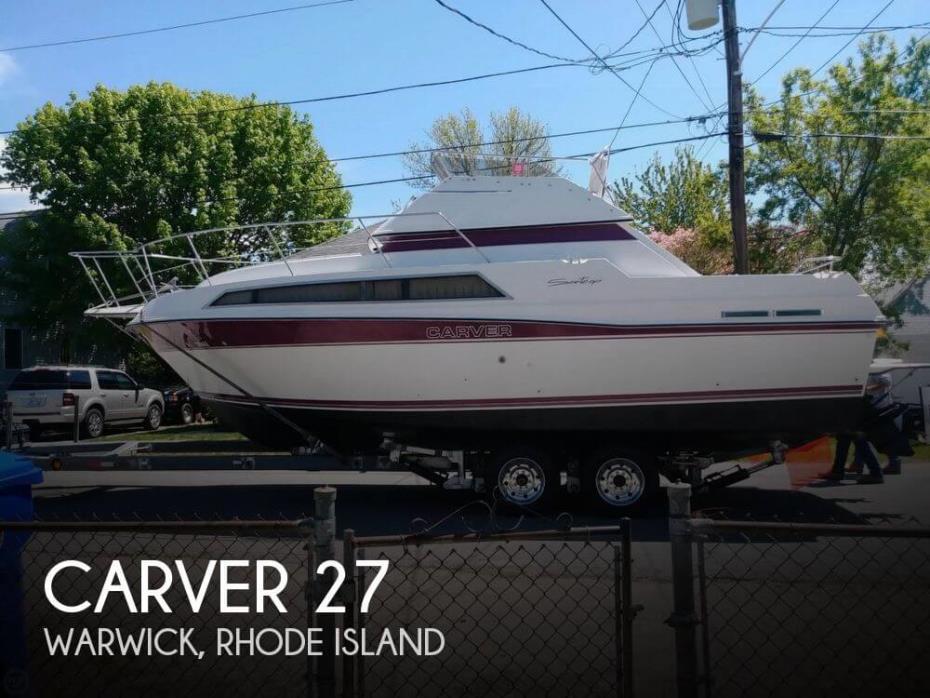 1989 Carver 2767 Santego