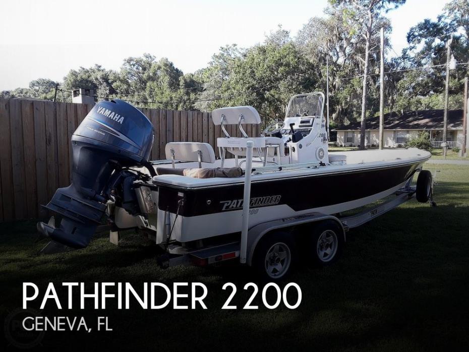2009 Pathfinder 2200