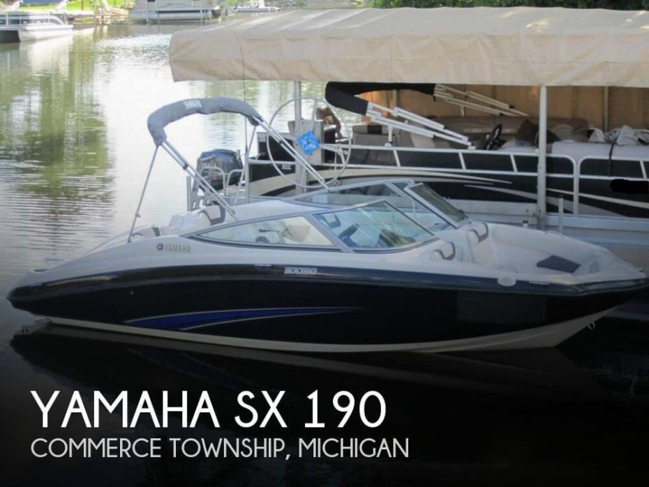 2014 Yamaha SX 190