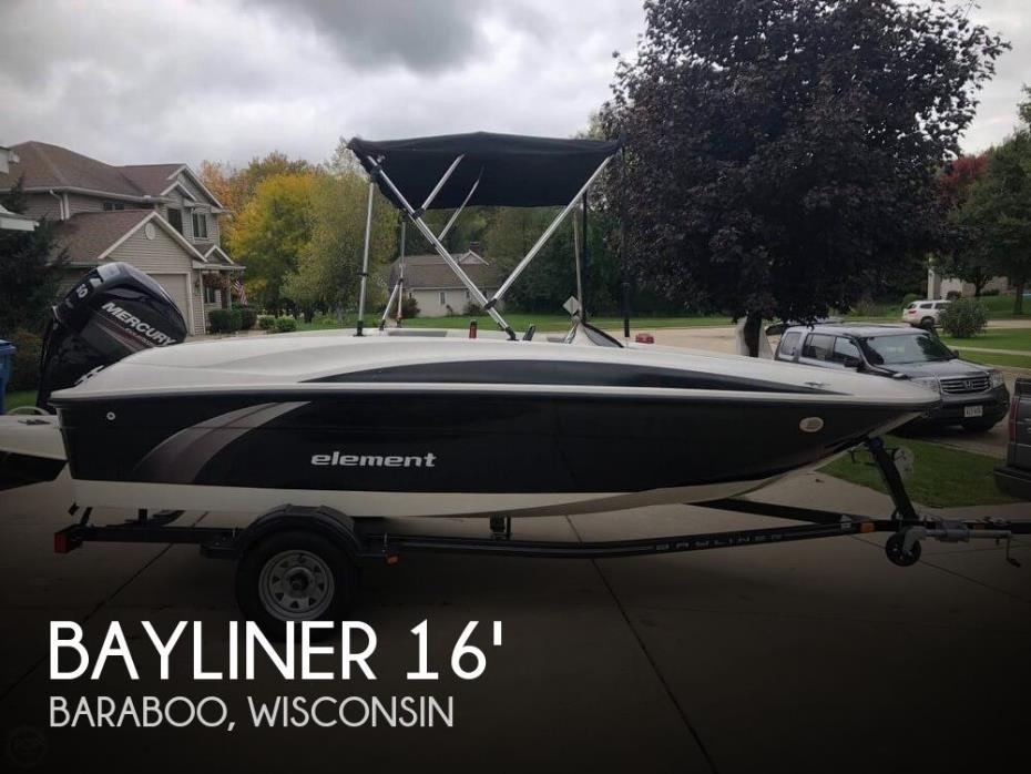 2014 Bayliner 160 Element
