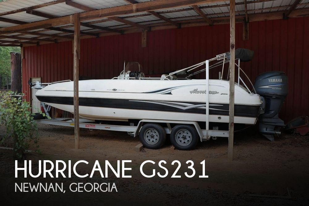 2007 Hurricane GS231 Fun Deck
