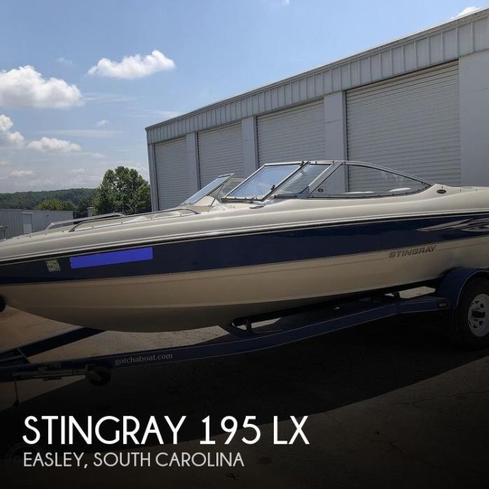 2007 Stingray 195 LX