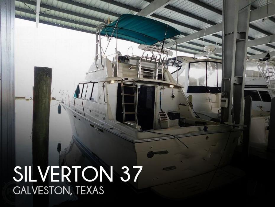 1989 Silverton 37 Convertible