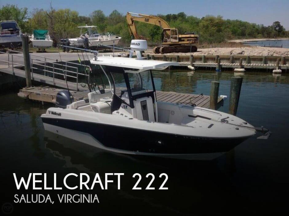 2017 Wellcraft 222