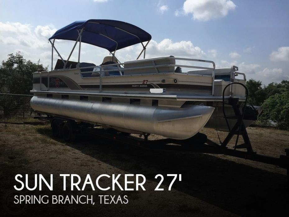 2001 Sun Tracker Regency Party Barge 27'