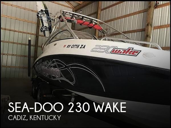 2008 Sea-Doo 230 Wake