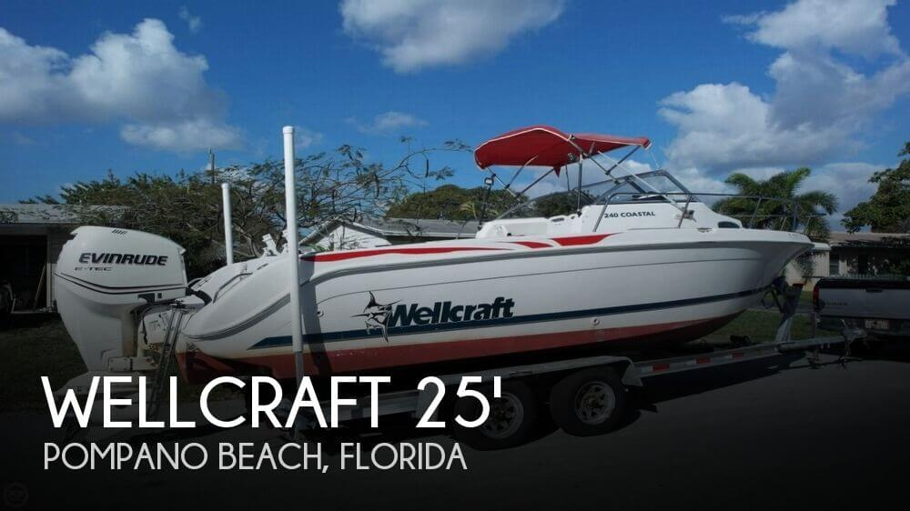 1998 Wellcraft 240 Coastal Walkaround