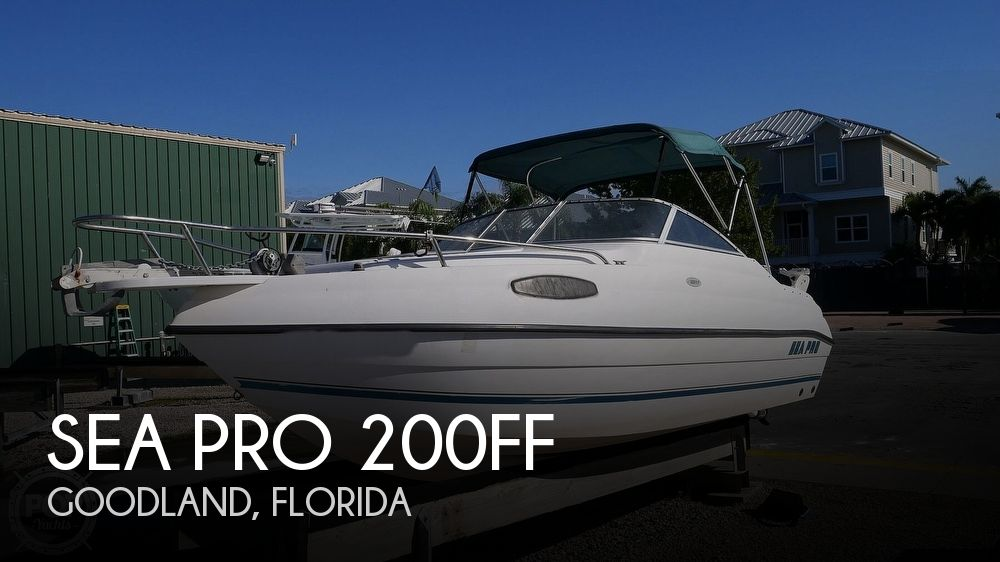 2002 Sea Pro 200FF