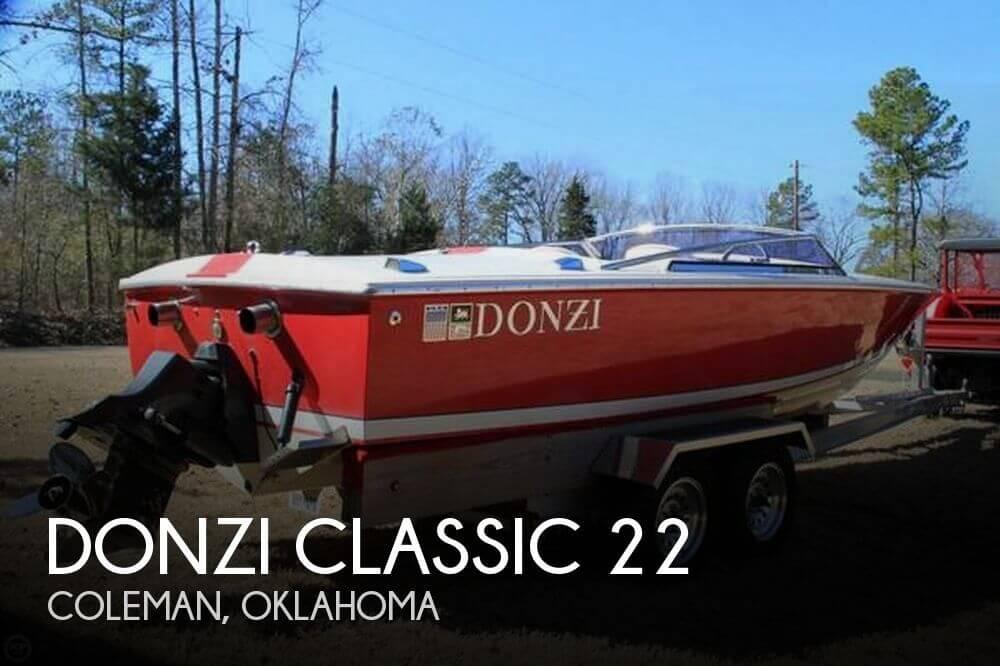 1989 Donzi Classic 22