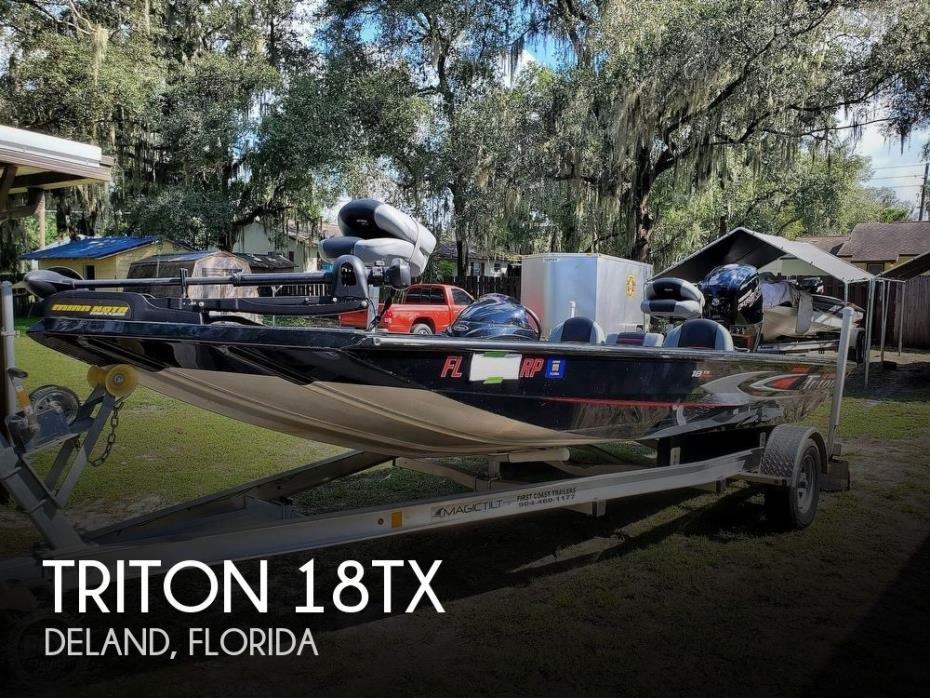 2017 Triton 18TX