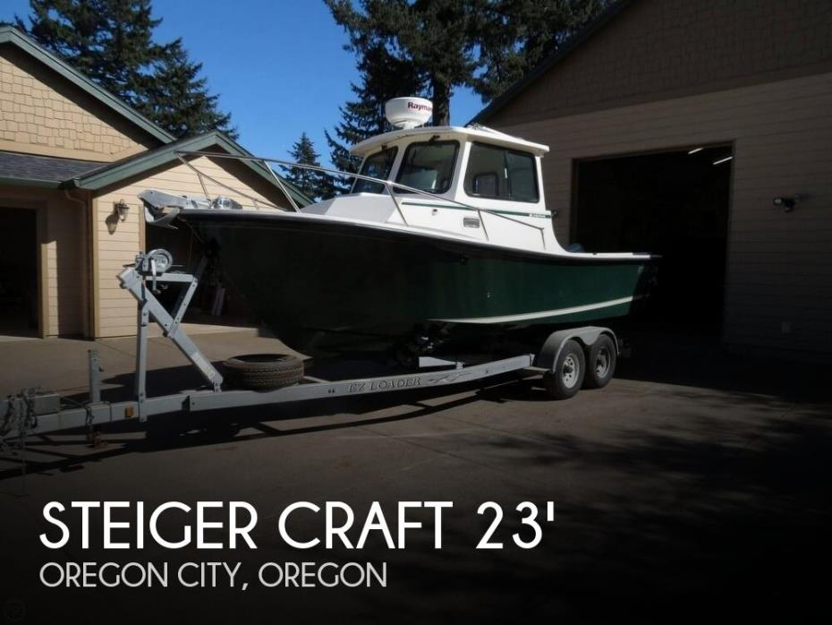 2005 Steiger Craft 23 Chesapeake