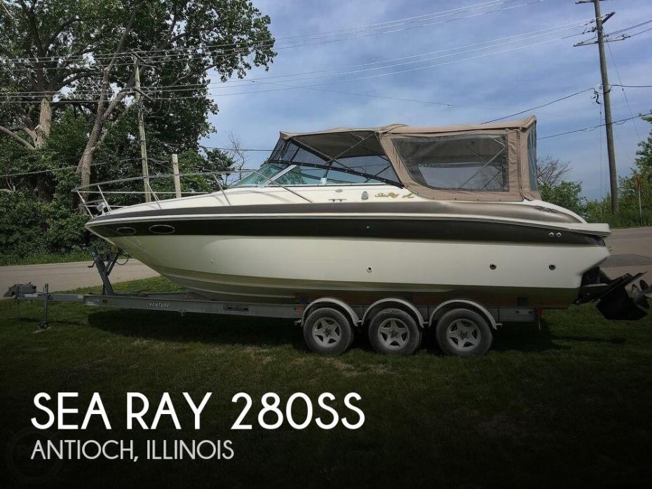 1998 Sea Ray 280SS