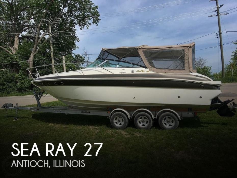 1998 Sea Ray 27