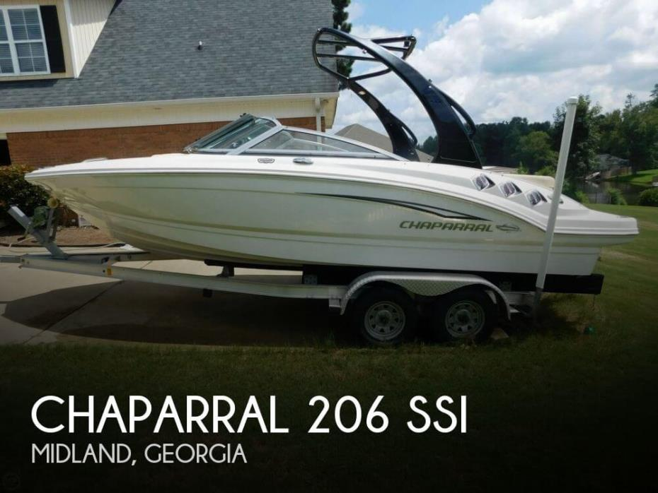 2012 Chaparral 206 SSi