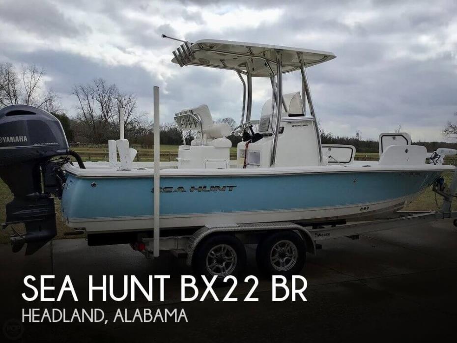 2016 Sea Hunt BX22 BR