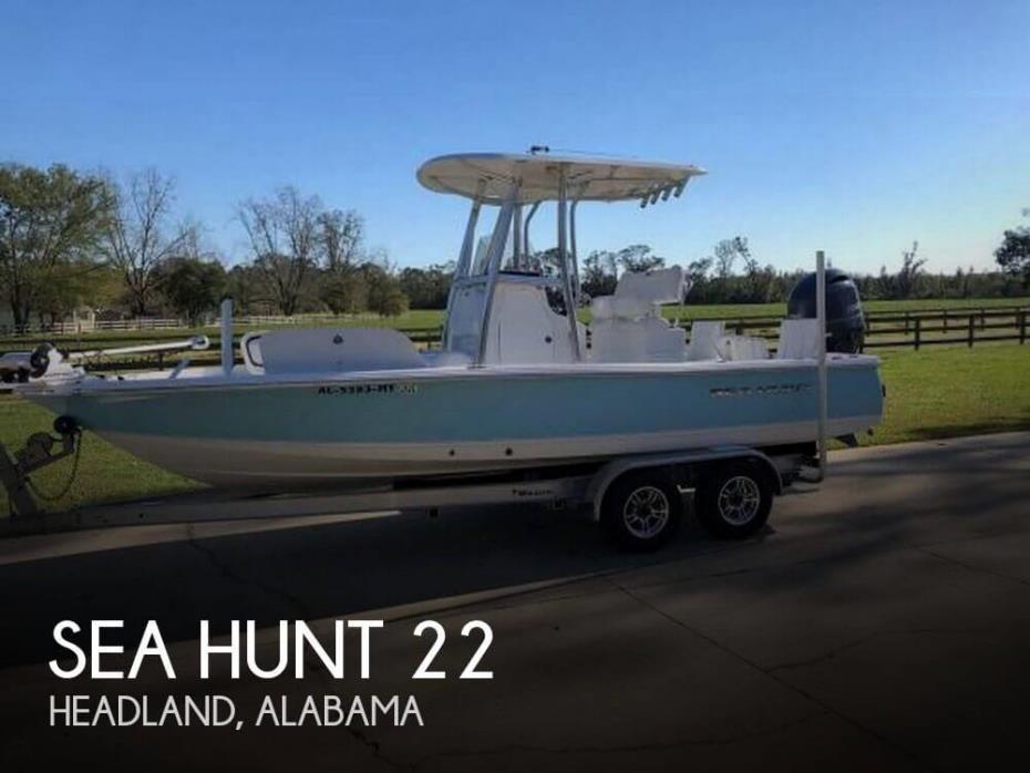 2016 Sea Hunt 22