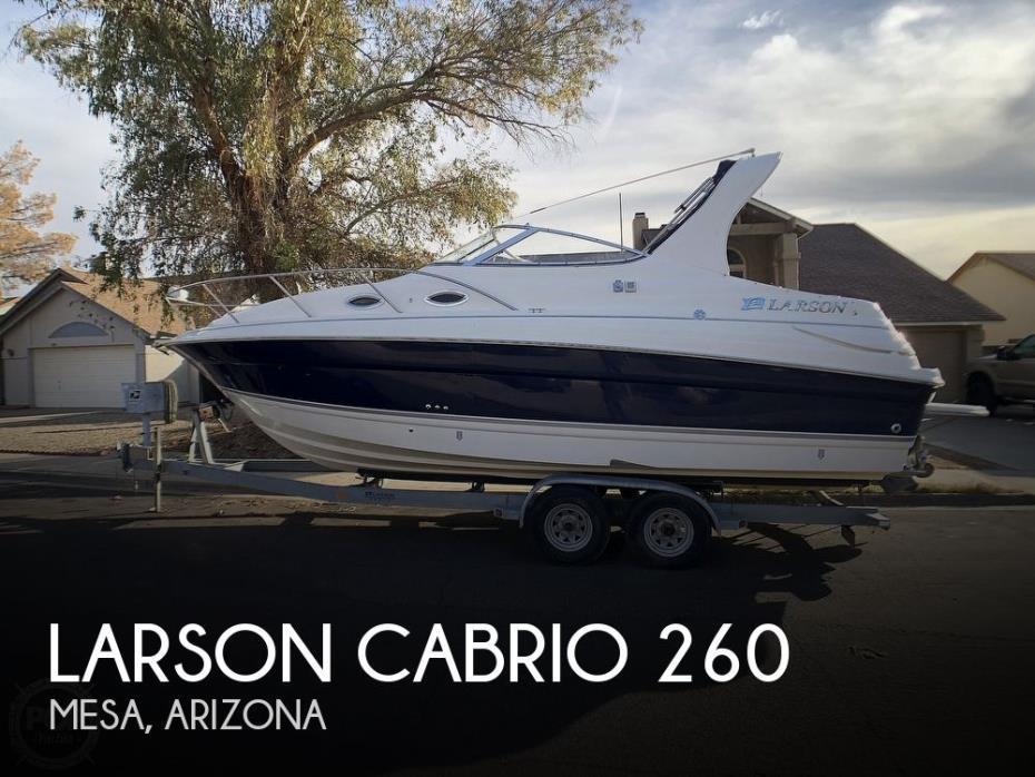 2008 Larson Cabrio 260