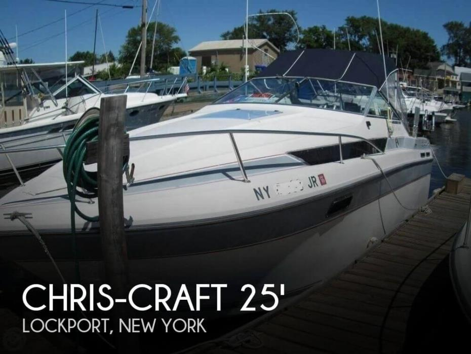 1987 Chris-Craft Amerosport 25 Day Cruiser